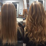 michelle V hair extensions